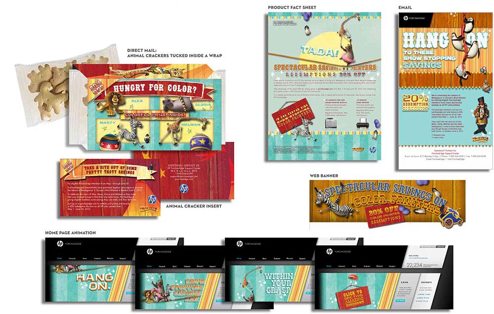 HP Multimedia Campaign